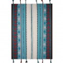 Ma Chambramoi : tapis enfant en laine à dominante bleue…