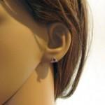 Boucles d'oreilles rubis en or de Vuillermoz…