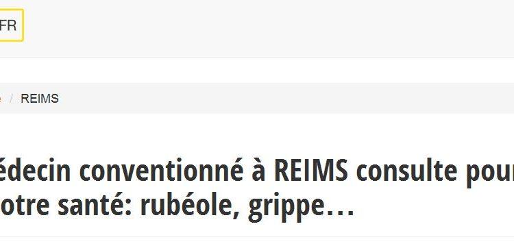 Les infos sur les médecins généralistes à Reims sont à retrouver sur Medecin-info.fr