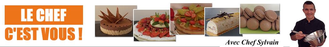 Parmi les recettes du Chef Sylvain, la fort facile recette de gâteau au yaourt…