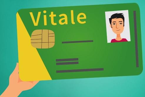 La Carte Vitale est la carte d'assurance maladie